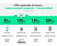 Amazon: Pour un forfait mobile RED souscrit, un mois d'abonnement offert