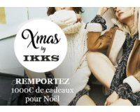 IKKS: 1 carte cadeau d'une valeur de 1000€ + 4 de 200€ à gagner par tirage au sort