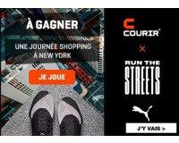 Courir: 1 journée Shopping à New York à gagner
