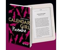 """Voici: 1 liseuse Nolim & 15 romans """"Calendar Girl Novembre"""" à gagner"""