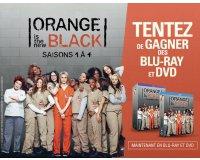 """BFMTV: 5 Blu-ray & 10 DVD """"Orange is the New Black - Saisons 1 à 4"""" à gagner"""