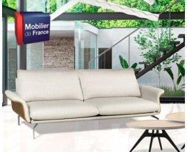 Maison Créative: 1 canapé 3 places ENZO & 10 bons d'achat Mobilier de France de 200€ à gagner