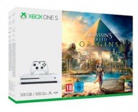 Micromania: -100€ sur les Xbox One S 500Go. Ex: console + Assassin's Creed Origins à 179,99€