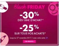 Marionnaud: [Black Friday] -25% sur tous vos achats, -30% dès 139€ d'achat + cadeau offert