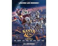 """FranceTV: 100 lots de 2 places de cinéma pour le film """"Santa & Cie"""" à gagner"""