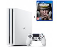 Cdiscount: PS4 Pro Blanche 1 To + Call of Duty World War II à 369,99€
