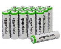 Amazon: Lot de 16 piles rechargeable Ni-MH Type AA 2000 mAh AmazonBasics à 21,19€