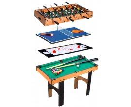 eBay: Table Multi Jeux 4 en 1 Babyfoot / Billard/ Air Hockey et Ping-Pong à 84,90€