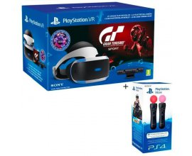 Cdiscount: PlayStation VR + Caméra + PS Move + GTS + VR Worlds + Qui-es-tu ? à 329,99€