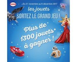 Cora: Plus de 1300 jouets à gagner