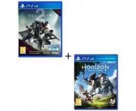 Cdiscount: Horizon : Zero Dawn + Destiny 2 sur PS4 à 59,99€