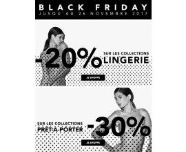 Etam: [Black Friday] -20% sur la lingerie, -30% sur le prêt-à-porter + cadeau offert