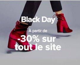 Sarenza: A partir de -30% sur tout le site pour Black Friday