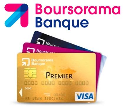 Code promo Boursorama : 130€ offerts pour toute 1ère ouverture d'un compte bancaire avec une carte VISA