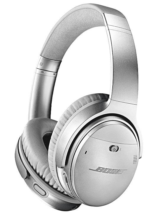 Casque Sans Fil à Réduction De Bruit Bose Quietcomfort 35 V2 Argent