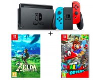 Cdiscount: Nintendo Switch + The Legend of Zelda + Super Mario Odyssey à 399,99€