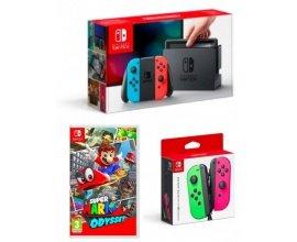 Fnac: 10% de remise pour l'achat d'une console Nintendo Switch + 1 jeu ou 1 accessoire