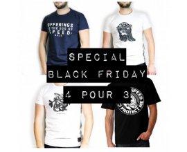 4h10: [Black Friday] 3 t-shirts achetés = un 4ème offert