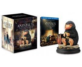 Amazon: Blu-ray édition limitée Les Animaux Fantastiques + figurine Niffleur à 63,99€