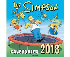 Rire et chansons: 50 calendriers muraux Les Simpson 2018 à gagner