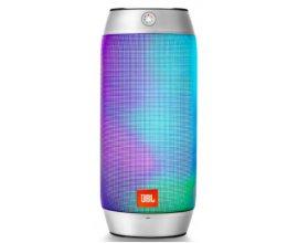 Zavvi: Enceinte sans fil bluetooth étanche et lumineuse JBL Pulse 2 Argenté à 79,79€