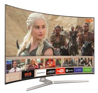 tv 55 uhd 4k incurv samsung ue55mu9005 1060 80 dont 300 via odr fnac. Black Bedroom Furniture Sets. Home Design Ideas