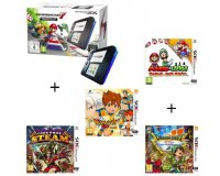 Cdiscount: Console 2DS Bleue & Mario Kart 7 Préinstallé + 4 jeux à 149,99€