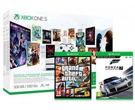 Amazon: Xbox One S 500Go 3M Game Pass + 3M LIVE + GTA V + Forza MotorSport 7 à 229€