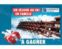 Carrefour: Un séjour au ski en famille et d'autres lots à gagner