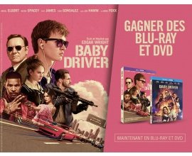 """BFMTV: 5 Blu-ray & 10 DVD du film """"Baby Driver"""" à gagner"""