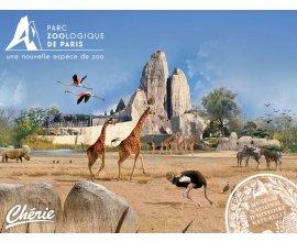 Chérie FM: 4 entrées pour le Parc Zoologique de Paris à gagner