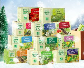 Jardin BiO': 40 coffrets de thés et infusion à gagner