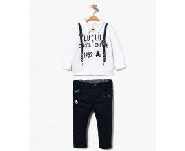 GÉMO: Ensemble pantalon + polo à manches longues bébé à 14,99€