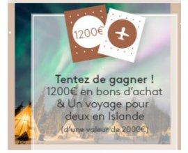 Bocage: [Calendrier de l'Avent] Voyage en Islande et bons d'achats de 50 € à gagner