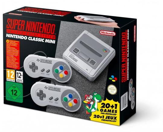 Code promo Fnac : Nintendo Classic Mini : Nintendo SUPER NES - 21 jeux inclus à 69,99€