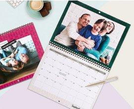 Photoweb: [Nouveaux Clients] 1 calendrier A4 double gratuit (livraison : 3,99€)