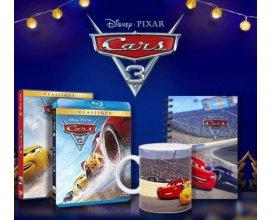 """Femina: 60 Blu-ray, 10 DVD, 10 cahiers & 10 mugs """"Cars 3"""" à gagner"""