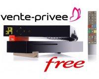 Vente Privée:  Abonnement Internet Freebox Révolution avec TV by Canal à 9,99€/mois au lieu de 39,99€