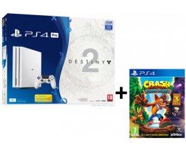 Micromania: PS4 Pro 1To Blanche + Destiny 2 + Crash Bandicoot à 329,99€