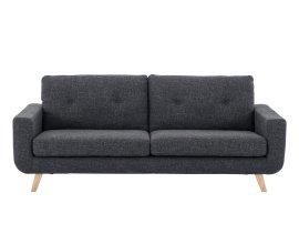 Fly: 33 % de remise sur ce canapé fixe 3 places tissu gris