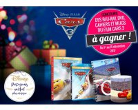 "Familiscope: 30 Blu-ray, 10 DVD, 10 cahiers & 10 mugs ""Cars 3"" à gagner"