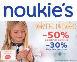 Noukies: [Ventes Privées] -30% pour 1 ou 2 articles achetés, -50% dès 3 articles