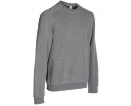 Decathlon: Sweat col Domyos Gym Pilates Homme Gris chiné à 4,99€