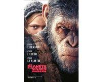 """Allociné: 10 Blu-ray du film """"La Planète des Singes - Suprématie"""" à gagner"""