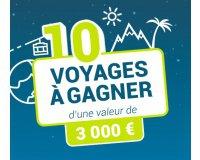 Carrefour: 10 voyages d'une valeur de 3000€ à gagner
