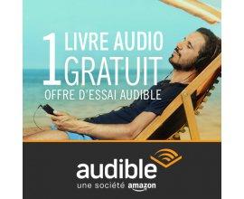 Amazon: 1 livre audio gratuit (offre d'essai de 30 jours)
