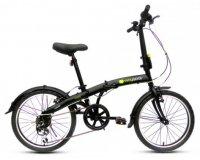 Norauto: Vélo pliant WAYSCRAL Foldy 20'' Rouge, Noir ou Blanc à 159€