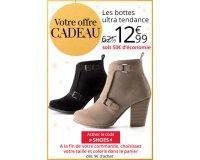 3 Suisses: Les bottes ultra tendance à 12,99€ au lieu de 62,99€ dès 9€ d'achat
