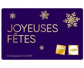 Fnac: 60€ de carte cadeau pour 50€