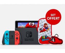 Fnac: 1 console Nintendo Switch achetée = 1 housse Mario Odyssey offerte